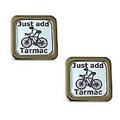Cycling Cufflinks Just Add Tarmac