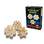 Classic Game - Wooden Brain Benders