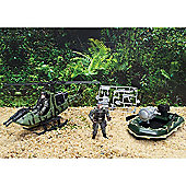 Stealth Force Soldier In Action Set - Demilitarized Zone Lookout
