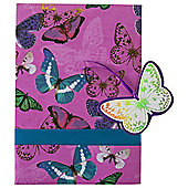 Butterfly luxury 1 sheet, 1 tag