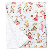 Baby Elephant Ears Luxury Pram Blanket Fair Maiden