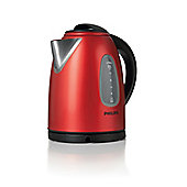 HD4666-40 1.7L Capacity Kettle in Robust Gloss Red Stainless Steel