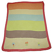 Lollipop Lane Pumpkin & Popsicle Knitted Blanket