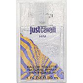 Roberto Cavalli Just Cavalli Him Eau de Toilette (EDT) 30ml Spray For Men