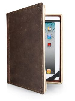 Twelve South BookBook Hardback Leather Case for iPad (Black)