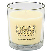 Baylis & Harding Boxed Candle Jojoba & Silk Almond Oil