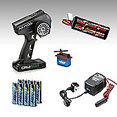 Radio Control Car Radio Gear & Battery Combo - Top Level