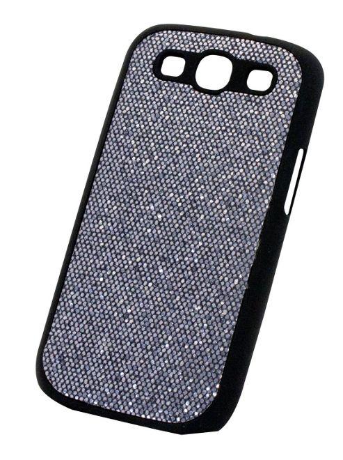 Tortoise™ Hard Case Samsung Galaxy SIII Glitter Pewter