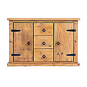 Home & Haus Courta 2 Door, 3 Drawer Sideboard