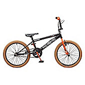 Rooster Big Daddy 20 BMX Black/Orange with Spoke Wheels
