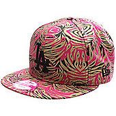 New Era Cap Co Jungle Buzz LA Dodgers Snapback Cap - Pink