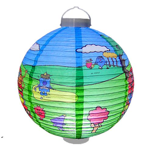 Loxton Lighting Mr. Men Golf and Bus LED Paper Lantern