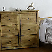Home Essence Panama 6 Drawer Chest