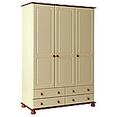 Altruna Oslo 3 Door 4 Drawer Wardrobe