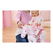 Baby Born Interactive Horse - White