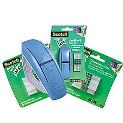 Scotch Pop-up Tape Hands Free Dispenser - Includes 2 Refill Packs
