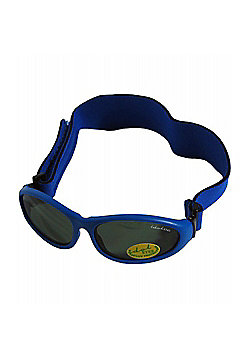 Idol Eyes Baby Wrap Sunglasses (Blue)