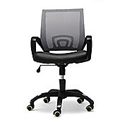 Hispanohogar Office Armchair - Grey
