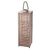 Parlane Modern Wooden 'Isra' Lantern - 86.5 x 27.5cm