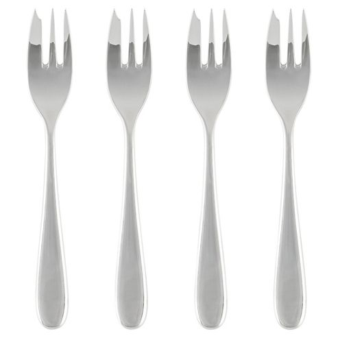 Alessi 4 Pack of Pastry Forks