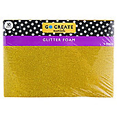 Go Create Glitter Foam A4 10 Pack
