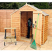 4ft x 6ft Windowless Overlap Apex Shed