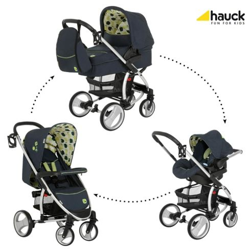 Hauck Malibu XL All-In-One Travel System, Fruits