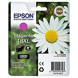 Epson 18XL(C13T18134010 MXL) Printer Ink Cartridge - Magenta