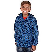 Regatta Kids Printed Pack-It Jacket Oxford Blue - 11-12