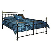 "Limelight Tarvos Bed Frame - Double (4' 6"") - Black"