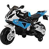 12V Licensed BMW Ride on Motorbike Blue