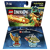 LEGO DIMENSIONS FUN PK CHIMA CRAG