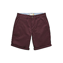 F&F Chino Shorts Waist 32 Burgundy