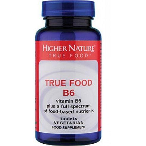 Higher Nature True Food B6 90 Veg Tablets