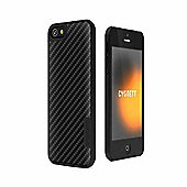 Cygnett UrbanShield Aluminium Hard Case for iPhone 5 + Screen Protector - Black
