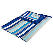 Tesco Kids Knitted Stripe Throw