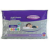 Slumberdown Anti-Snore Single Pillow