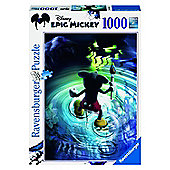 Epic Mickey Mouse 1000 Piece Jigsaw Puzzle - Ravensburger