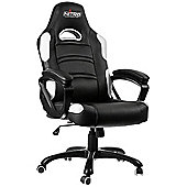Nitro Concepts C80 Comfort Series Gaming Chair Black / White NC-C80C-BW-UK