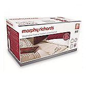 Morphy Richards 600002 Double Fleece Washable Heated Under blanket