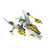 Meccano Space Chaos Phoenix Corvette Silver Force
