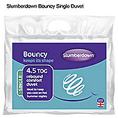 Slumberdown Bouncy 4.5 Tog Single Duvet