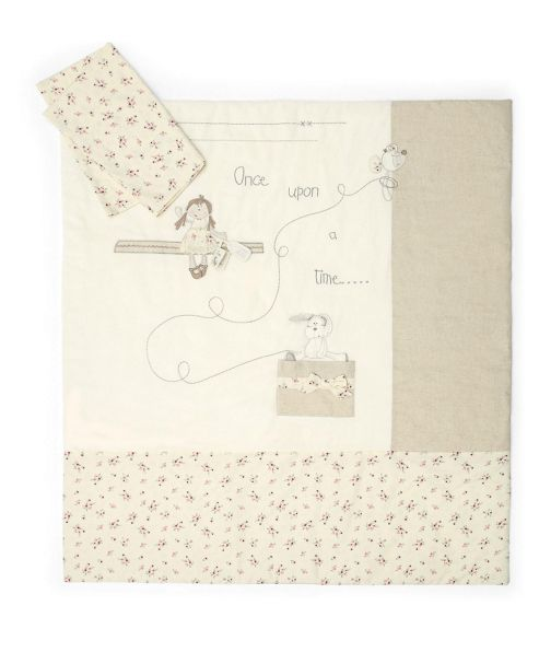 Mamas & Papas - Once Upon A Time Girls - Quilt & Pillowcase
