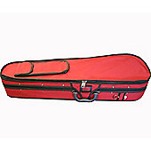 Stentor 1372/C/RD 3/4 Size Violin Case - in Red