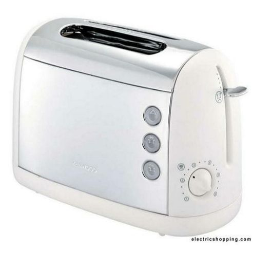 Kenwood TT391 Two White Slice Stainless Steel Toaster