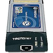 TRENDnet TEG-PCBUSR 10/100/1000Mbps Gigabit CardBus PC Card (VA2.xR)