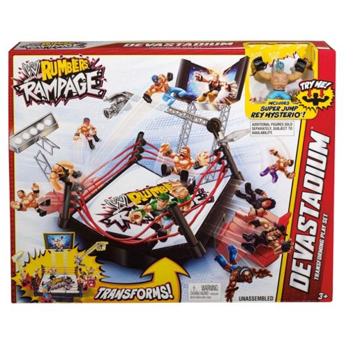 Wwe Rumblers Playset (Tv Driver)