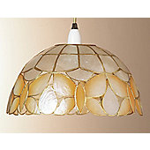 Loxton Lighting Shell Wild Butterfly Shade in Champagne