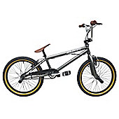 "Rooster Zuka BMX Matt Grey with Spoke 20"" Wheels"