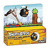 K'Nex - Angry Birds - Black Bird vs Small Minion Pig - Tomy